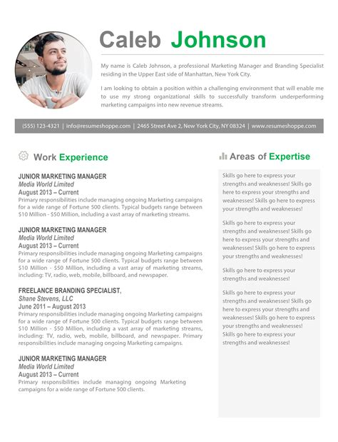 Curriculum Vitae Format For Microsoft Word Resume Template Manager