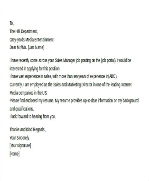Application Letter Writing | Email Cover Letter Uk Examples