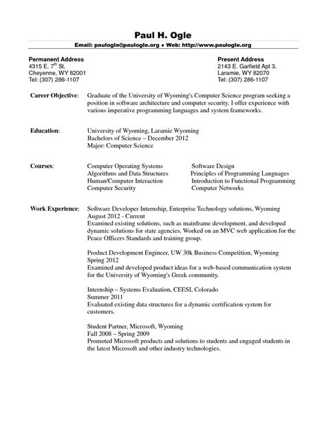 resume examples inexperienced student. Resume Example. Resume CV Cover Letter