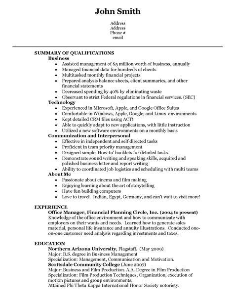 Resume For A Second Job Resume For A Second Job