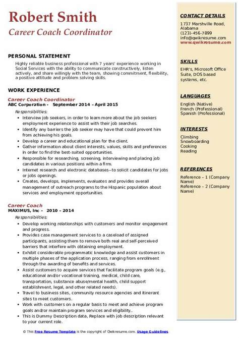 how to make resume for service crew   resume templates on wordresume for job coach