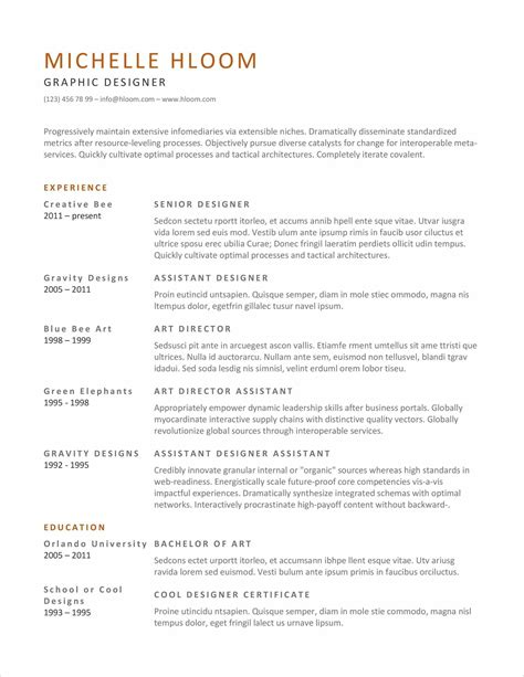 implementation manager resume dancer resume format
