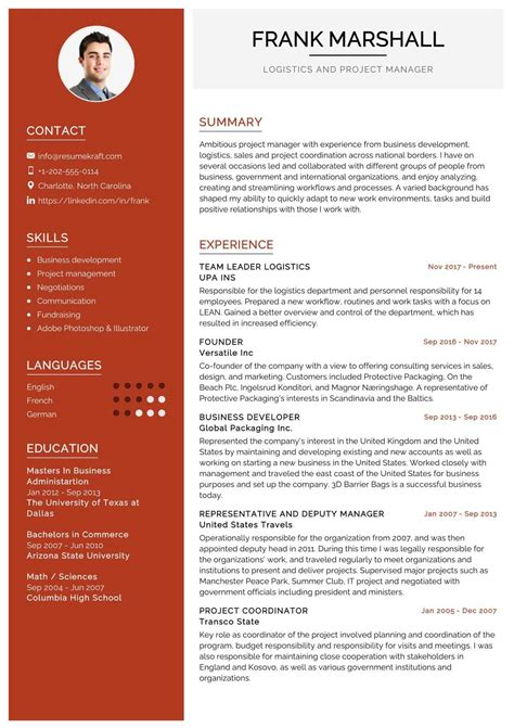 resume examples logistics manager resume sample logistics manager cv template cv logistics cv cover letter for - Logistics Resume
