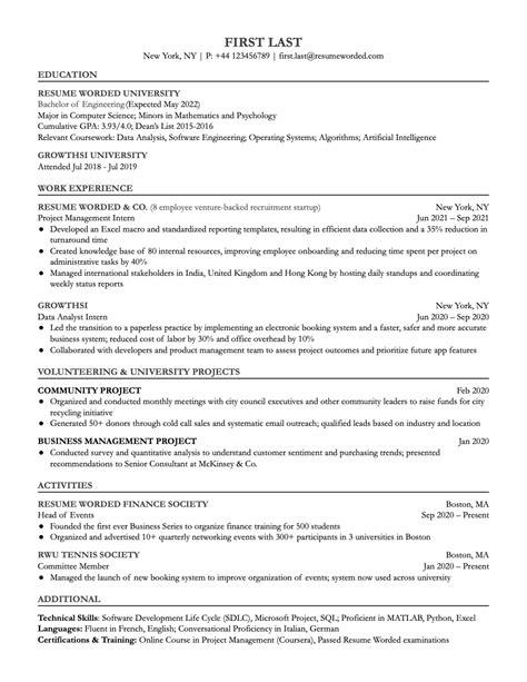 Ut Transfer Resume Gallery - resume format examples 2018