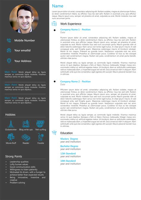 resume templates for free online - Resume Templates Free Online