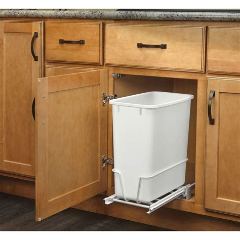 Rev-A-Shelf 20qt Pull-Out Waste Bin White Your Special .