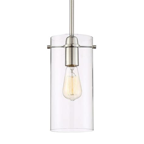 Revel Jet 4 5 Pendant Light With Glass And Metal Inner .
