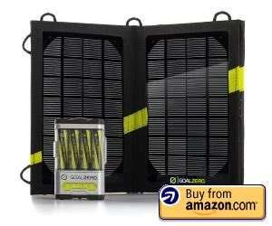 Review Goal Zero Solar Recharging Kit - Too Many Adapters.