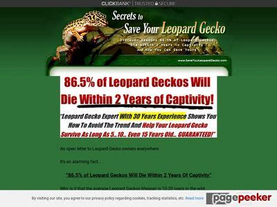 [pdf] Review Save Your Leopard Gecko.