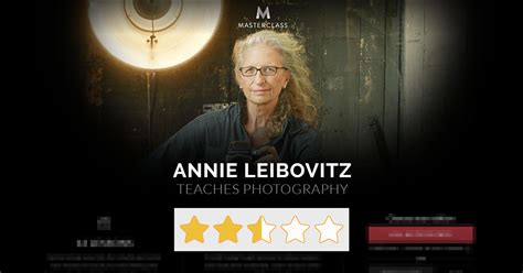 Review: Annie Leibovitzs Masterclass Is A Disappointment - Petapixel.