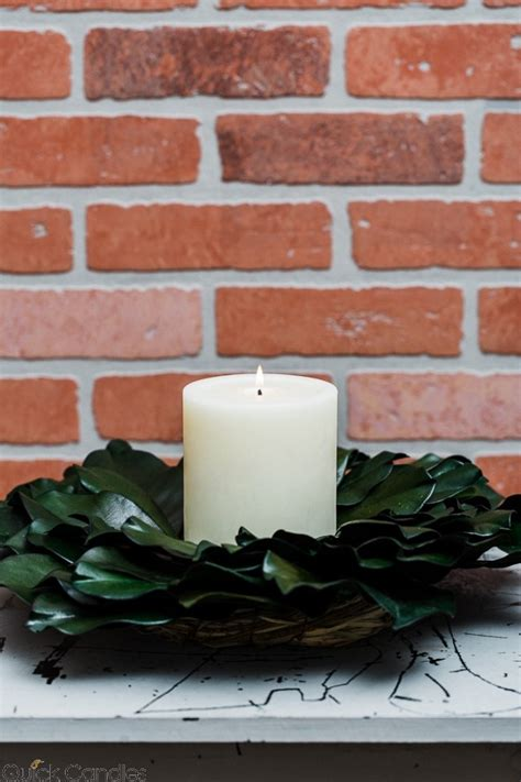 Richland Preserved Magnolia Wreath 17  Quick Candles.