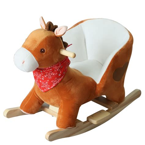 Ride-on Rocking Horse For Boys