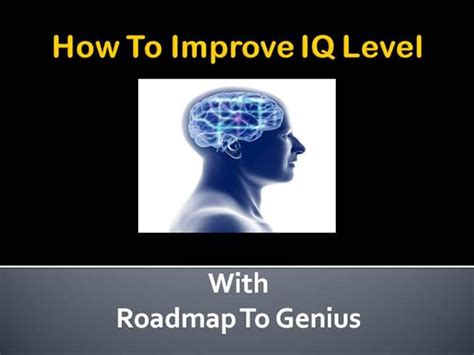 [pdf] Roadmap To Genius - Improve Intelligence Iq.