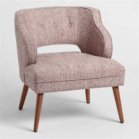 Rose Pink Tyley Upholstered Chair - Fabric By World Market.