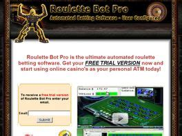 [click]roulette Bot Pro - Automated Roulette Betting Software.