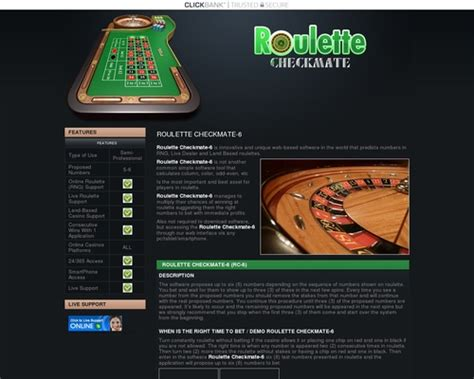 Roulette Checkmate - Software For Roulette With Number - Pinterest.