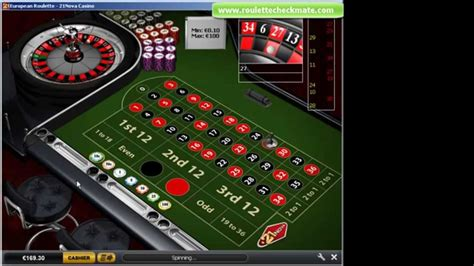 Roulette Checkmate-3, Wins And Profits At 21nova Casino - Youtube.