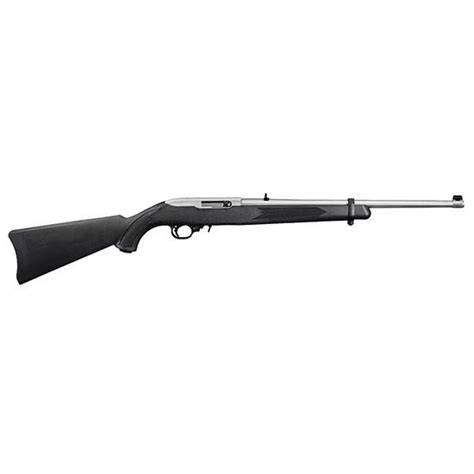 Ruger 1256 10 22 Rifle 22 Lr 18 5in Stainless 10rd Black.