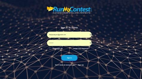 [click]run My Contest Review Demo - Affiliate Contest Management Software.