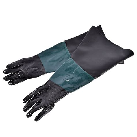 Sandblast Cabinet Glove Sand Blaster Replacement Gloves .