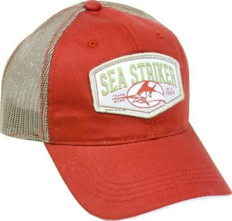 Sea Striker Cap Orange Khaki - Doddsports Com.