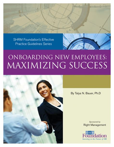 [pdf] Shrm Foundation  S Effective Practice Guidelines Series.
