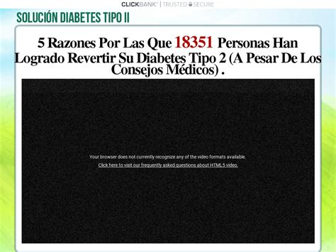 Sindiabete :: Diabetes Loophole Spanish Version Clickbank.