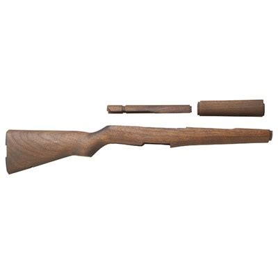 Springfield Stock Set Fixed Walnut Stock Set Fixed Brown .