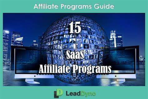 Saas Affiliate Marketing Programs: 15 Software Products Ready To.