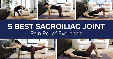 @ Sacroiliac Joint Dysfunction Exercises For Pain Relief.