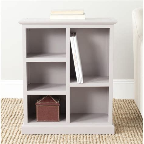 Safavieh Maralah Country Transitional Bookcase With 5 .
