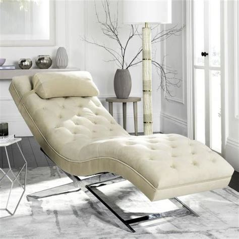 Safavieh Monroe Modern Beige Chaise Lounge At Lowes Com.