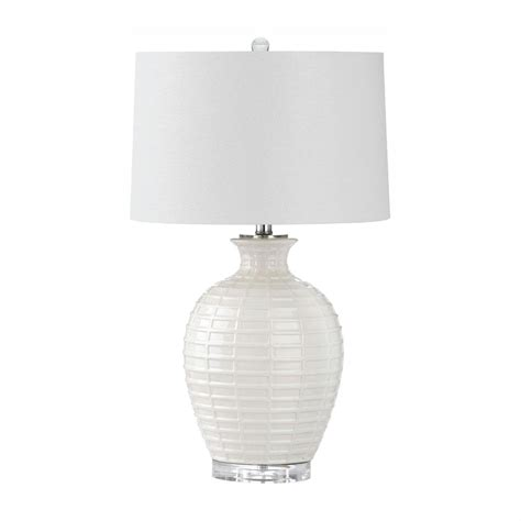 Safavieh Shultz 23 5 In White Table Lamp-Lit4251a - The .