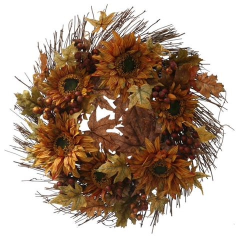 Sale  Christopher Knight Home 24-Inch Fall Sunflower .