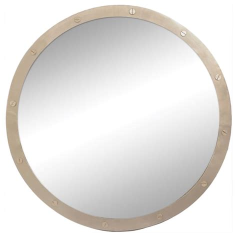 Sale  Renwil Hudson Nickel Plated Mirror - X3gfrgss.