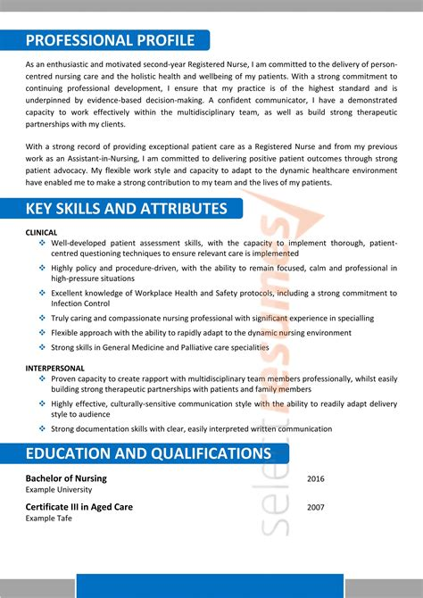 Aged Care Resume Template. Computer Lab Attendant Cover Letter