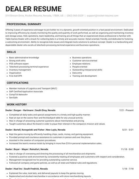 sample resume for online dealer   search resume in usa freesample resume for online dealer
