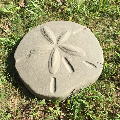 Sand Dollar Stepping Stone Mold  Garden Molds.