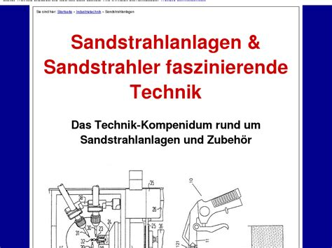 @ Sandstrahlanlage Sandstrahler Technik Review - Does This .