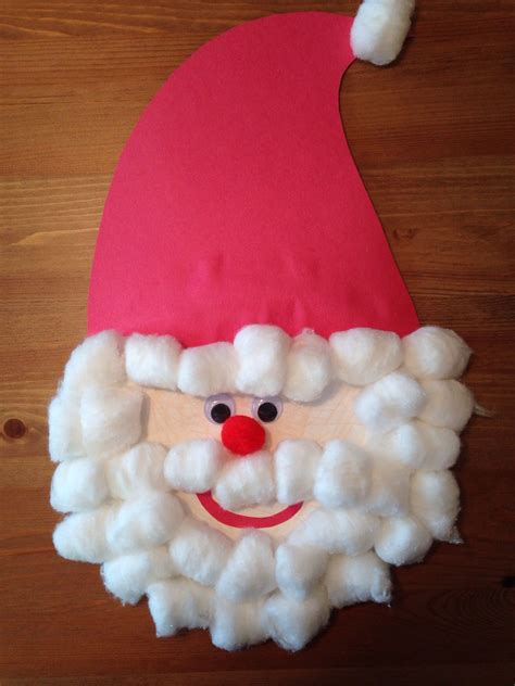 Santa Claus Pattern For Preschool
