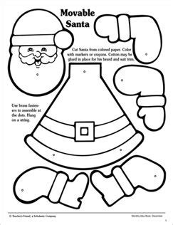 Santa Patterns Activities For Kids
