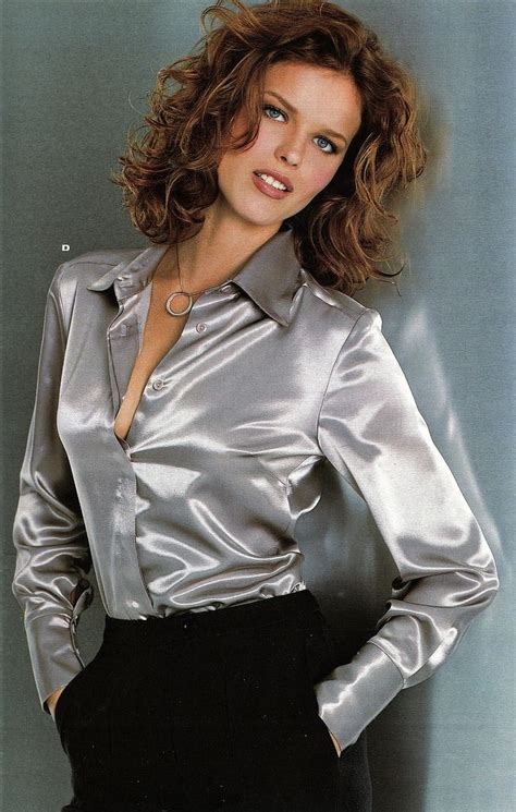 Satin Blouse Flickr