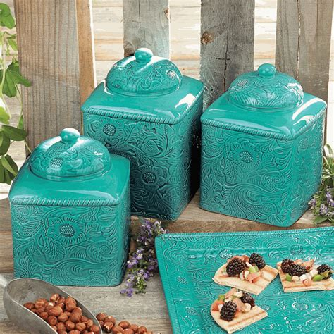Savannah Turquoise Dinnerware - Lone Star Western Decor.