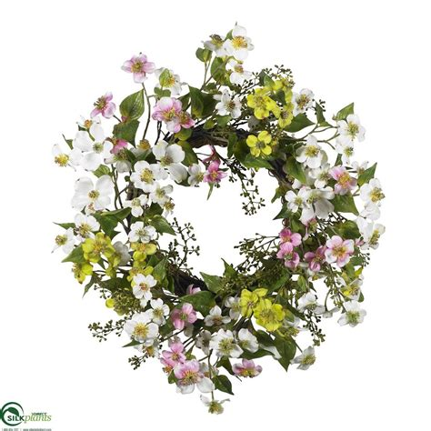 Save Silk Plants Direct Twig And Pine Wreath Set Of 1 .