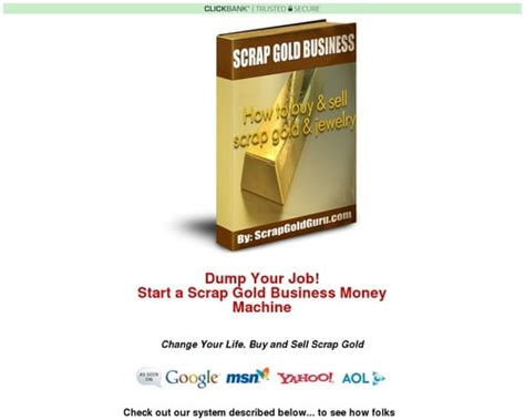 [click]scrap Gold Business-Make Huge Profits - Goodtoseo Com.