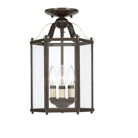 Sea Gull Lighting 5231-782 Bretton Three-Light Semi-Flush .