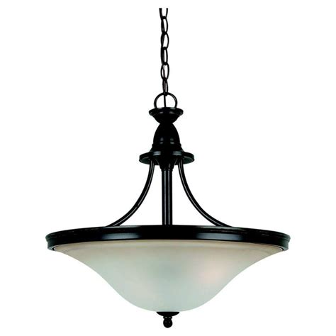 Sea Gull Lighting Geary 3-Light Heirloom Bronze Pendant .