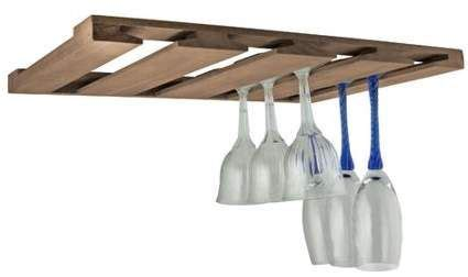 Seateak Overhead Wineglass Rack - Walmart Com.