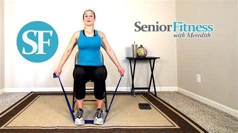 Seated Exercises For Older Adults - Youtube.