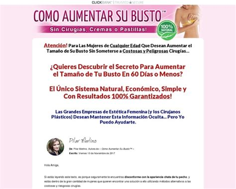 Secret Code Aumento De Busto - Sin Opt-In - Gran Conversion.
